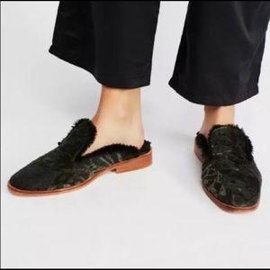 Free People Butterfly Effect Mule Shoes